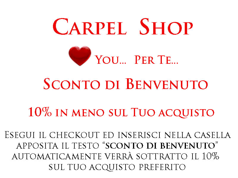 Carpel Shop - Sconto 10%