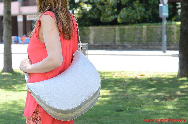 Borbonese Luna Bag piena, dimensioni