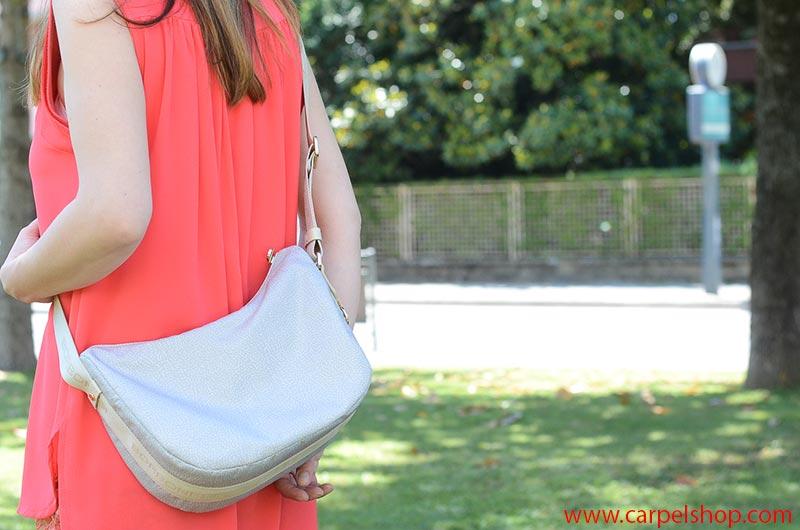 Borbonese Luna Bag Small Vuota, dimensioni