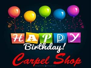 Happy Birthday Carpel Shop