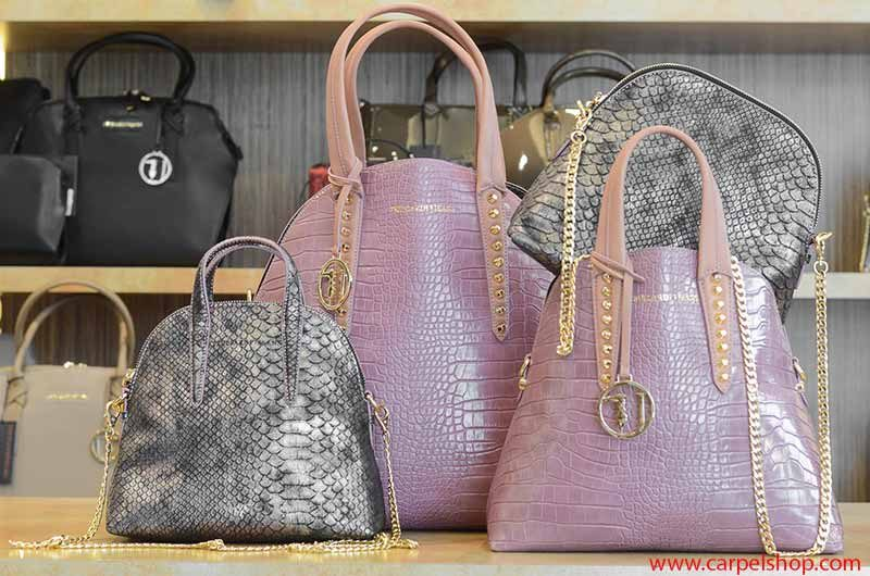 Trussardi Jeans Bugatti stampa cocco rosa
