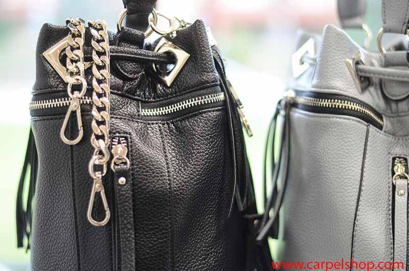 La Carrie Bag Zip tracolla