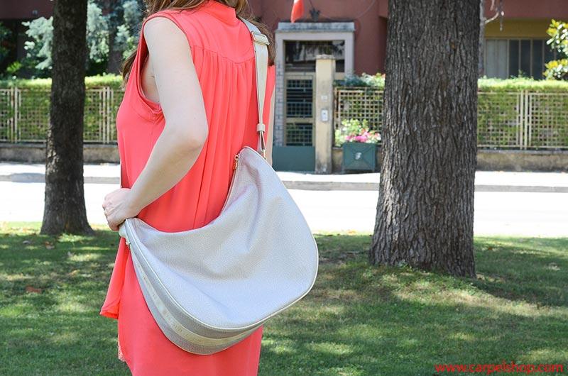 Borbonese Luna Bag svuotata, dimensioni