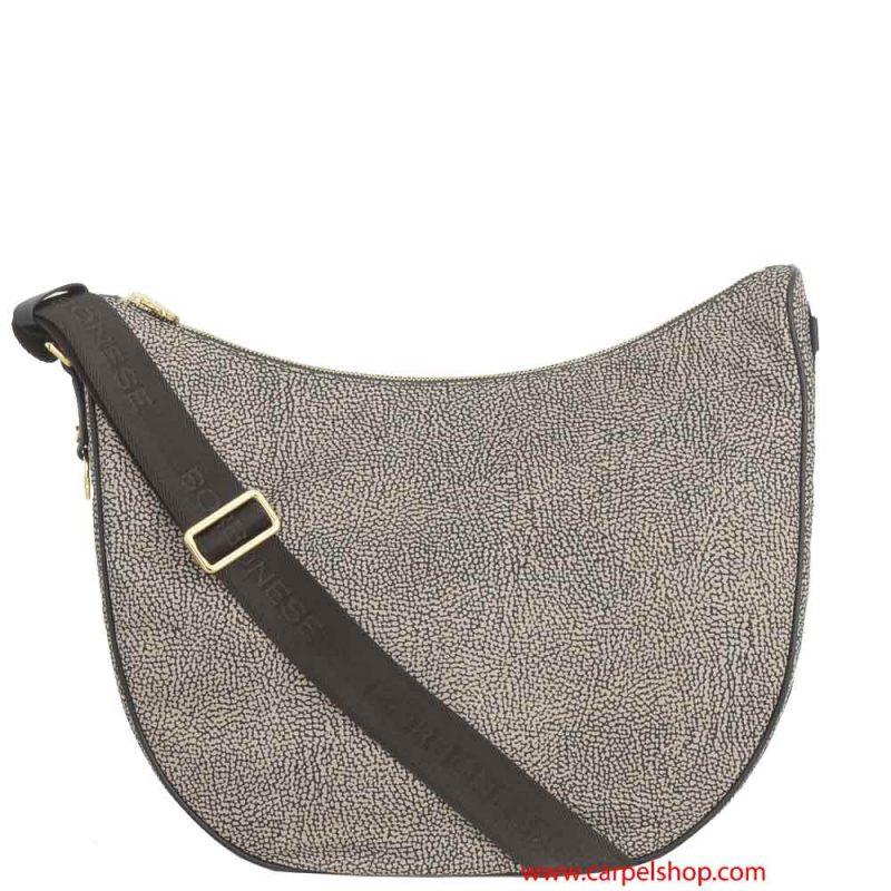 Borbonese Luna Bag Marrone Op Classic